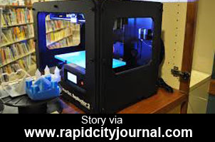 Makerbot 3d Printer At Library Makerspace
