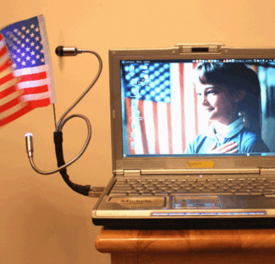 Makerspace Project Patriotic Computer