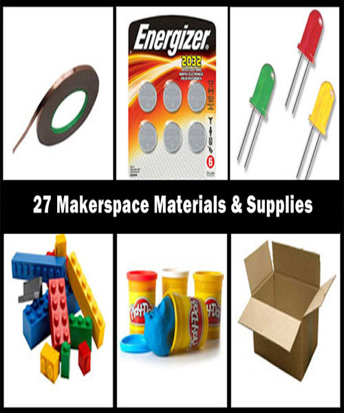 27 Of The Best Top Makerspace Materials For School And Library Makerspaces
