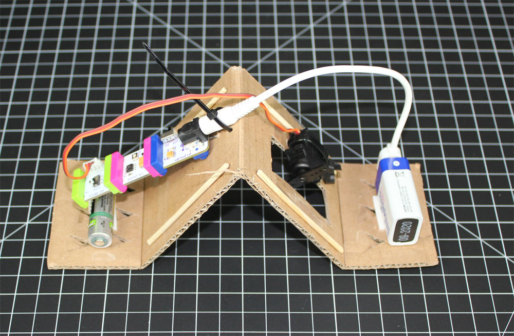 Makerspace Project Inchworm Littlebits