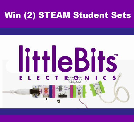 Makerspace Giveaway – LittleBits (CLOSED)