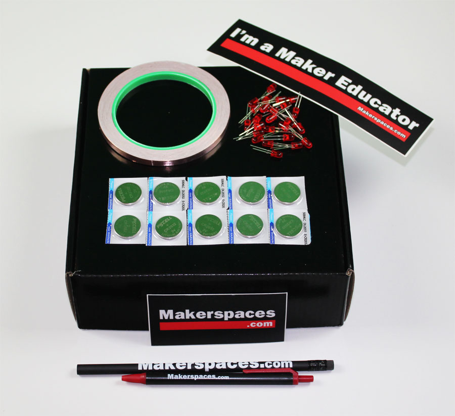 Paper Circuits Kit - Paper Circuit Projects For Makerspaces