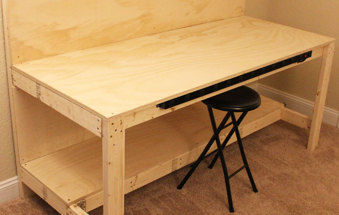 electric-strip-makerspace bench