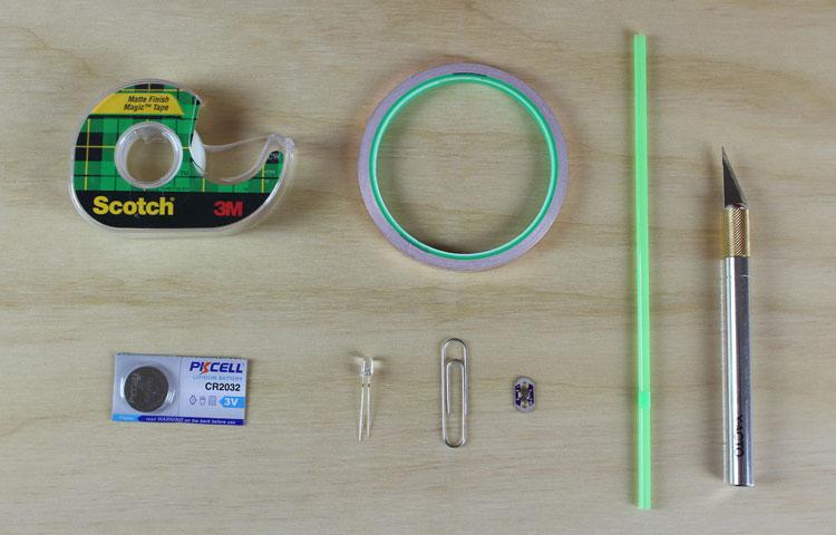 paper circuit materials