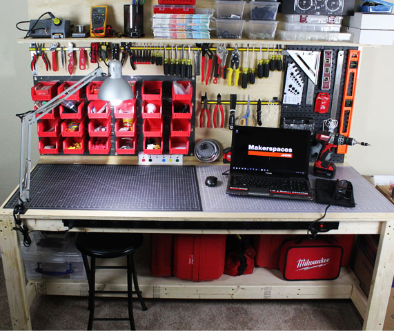 makerspace workbench