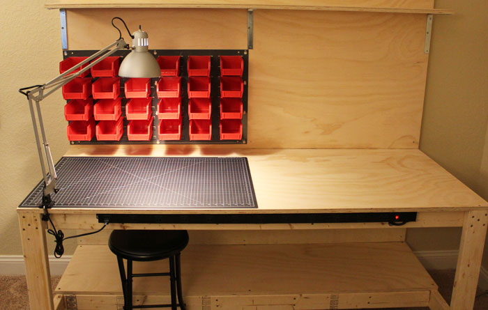 makerspace workbench plans