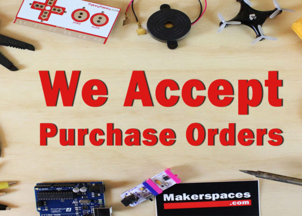 We Accept Purchase Orders!