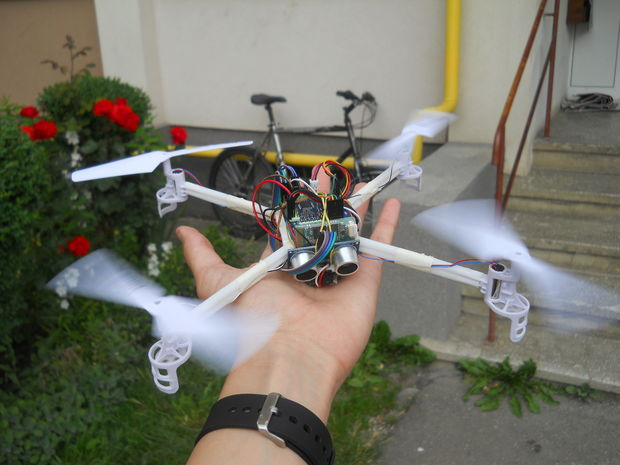 arduino based drone quadcopter