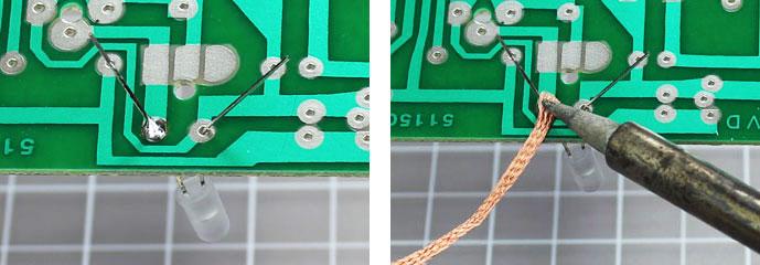 how to desolder soldering
