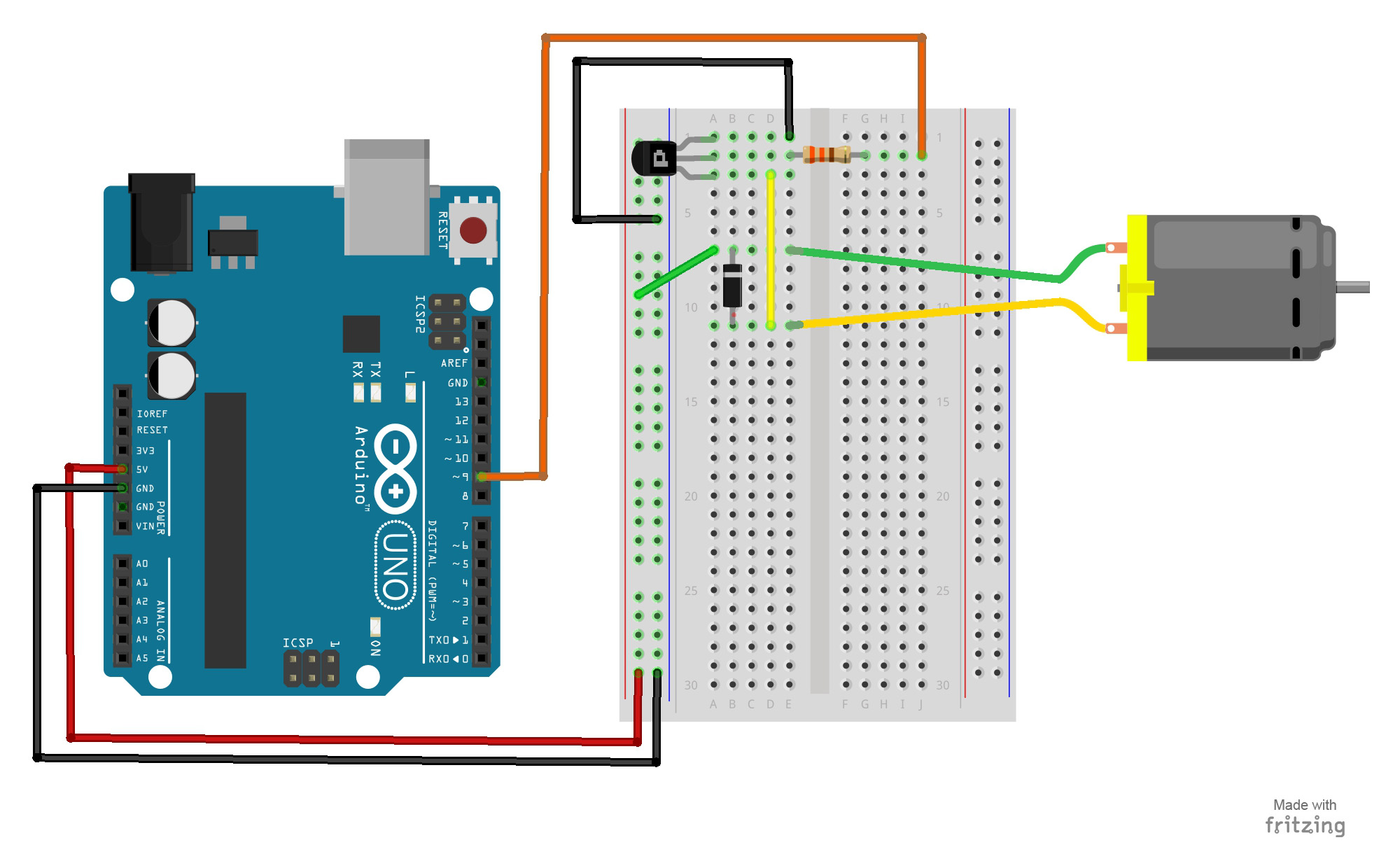 15 Arduino Uno Breadboard Projects For Beginners W Code Pdf