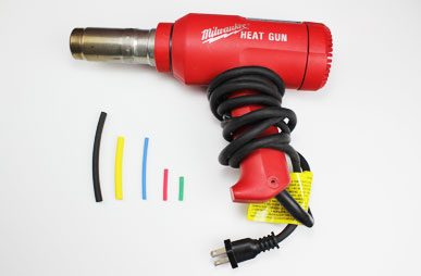 heat gun shrink