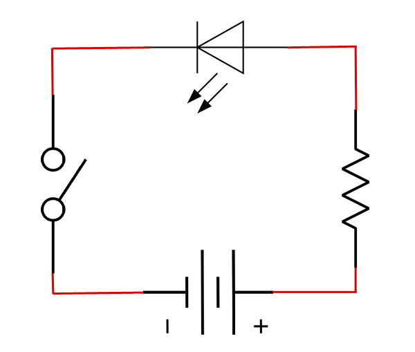 led-switch-schematic-diagram