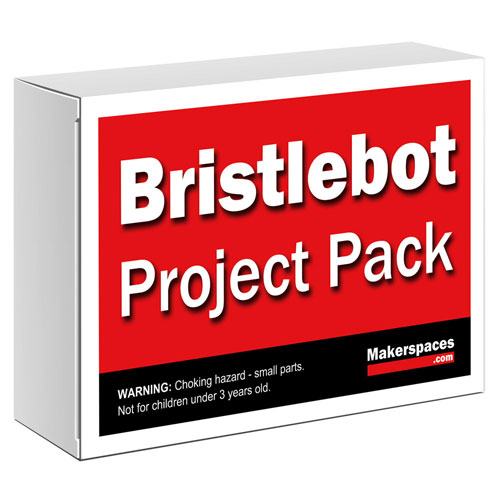 bristlebots brushbot project kit for makerspaces stem education
