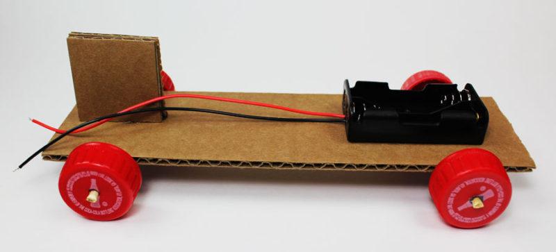 simple electric propeller car motor