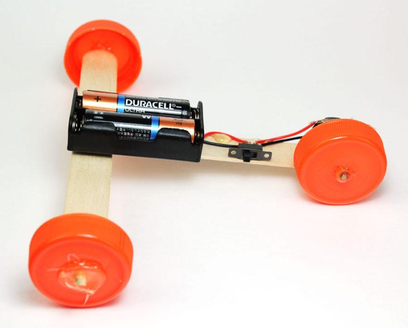 stem science fair project car