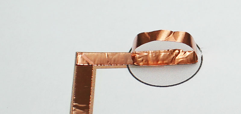 fathers day paper circuits copper tape