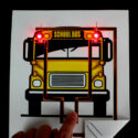 Paper Circuit School Bus