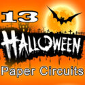 13 Halloween Paper Circuits (FREE Ebook)
