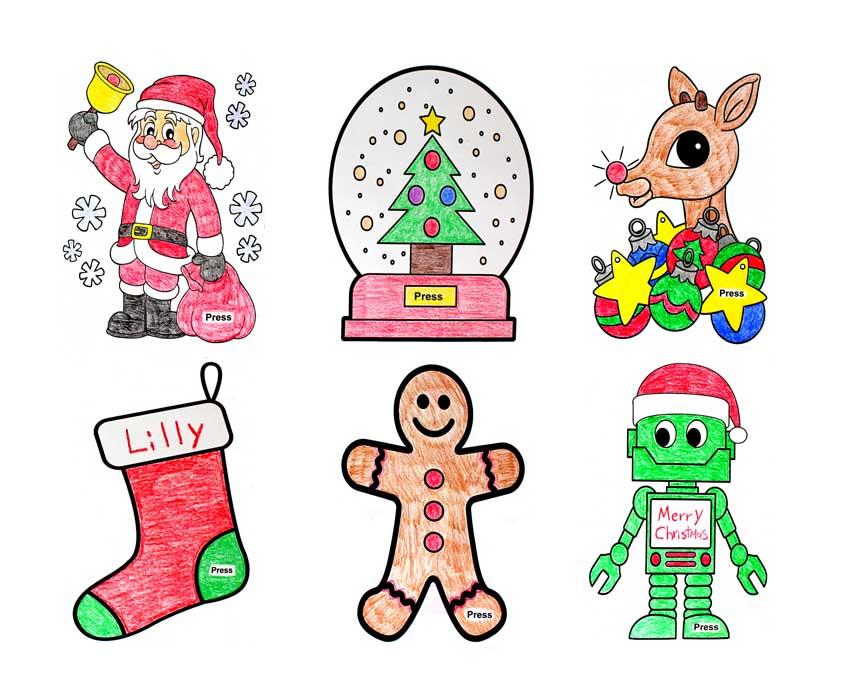 Make Christmas Light-up Cards