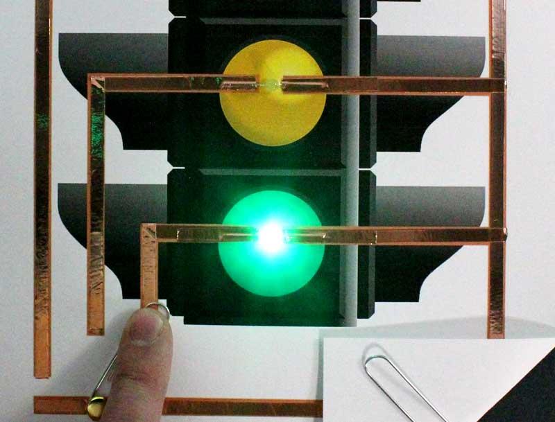 circuito della carta di prova