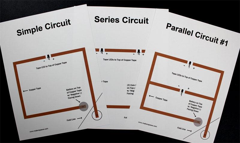 paper circuit project templates pdf