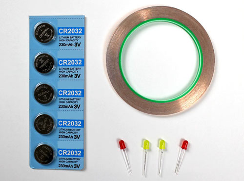 simple series and parallel paper circuits