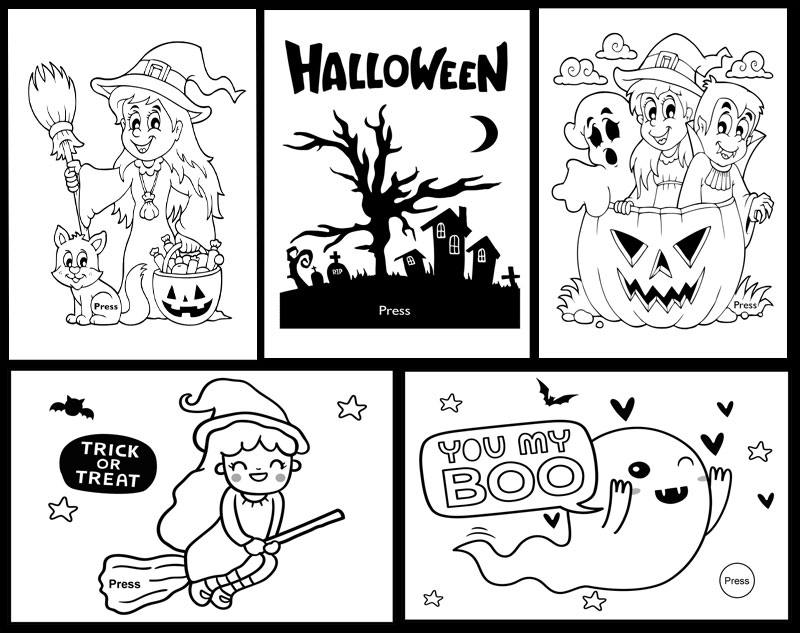 5 halloween paper circuits projects