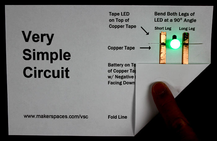 Very Simple Paper Circuit